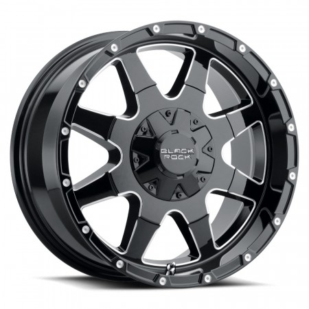"Black Rock Fury I 904B 9x17"" 5x114,3 / 5x127"