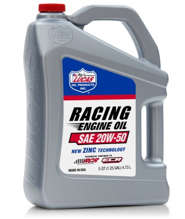 Lucas Racing 20W50 - 5 Quart