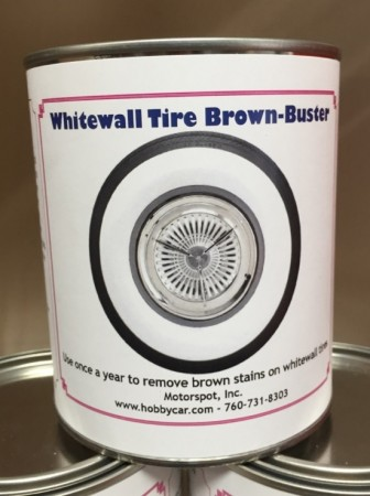 Whitewall Tire Brown Buster - 32 oz