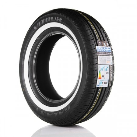 155/80R15 Vitour Galaxy R1 20mm hvitside
