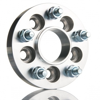 2 stk spacer, 5x120 / 5x120, 25mm MED STYRING 72,6mm