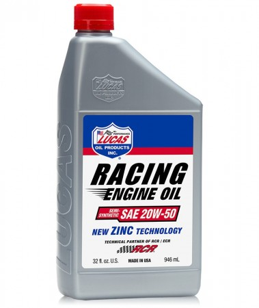 Lucas Racing 20W50 - 1 Quart