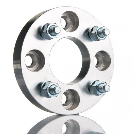 2 stk SteyrTek Bolt pattern conversion adapter, 25 mm, 4 x 98 / 4 x 100