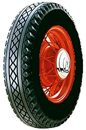 Goodyear 650/16 med sort side
