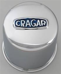 Cragar krom navkopp for 6-bolt felg - 108mm nav