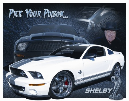 Shelby Mustang - Pick you poison