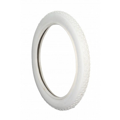 Coker Button All-White Beaded Edge 28x2,5